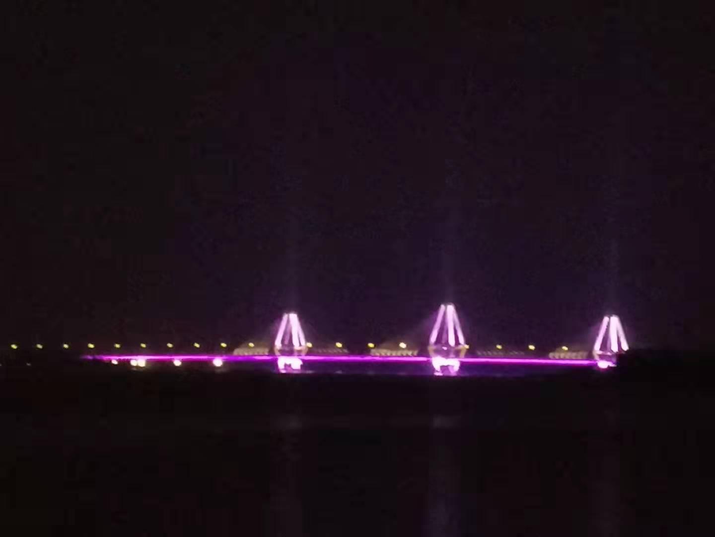 夜幕中的范蠡大桥雄姿